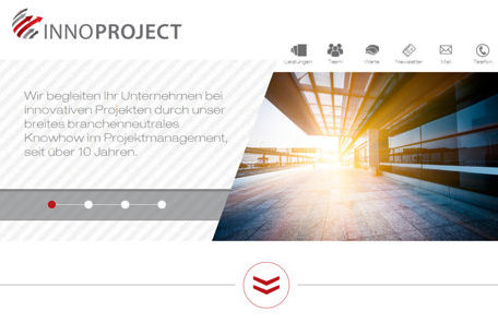 Innoproject GmbH (Redesign)